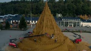 Sand castle construction 2